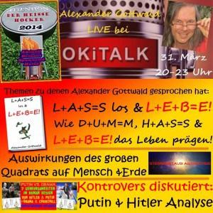 Okitalk Heißer Hocker Interview mit Alexander Gottwald