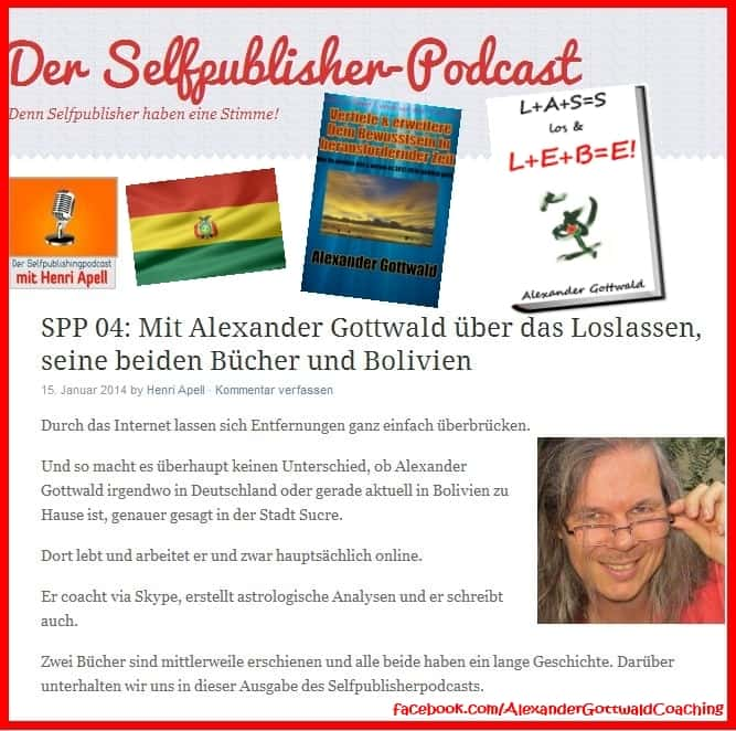 Alexander Gottwald Interview Selfpublisher Podcast Henri Apell