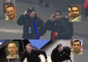 Die vier Verdächtigen Männer von US-Behörden in Boston