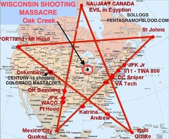Pentagram of Blood - Pentagramm des Blutes - Bostoin und New Orleans - Horoskop - Alexander Gottwald