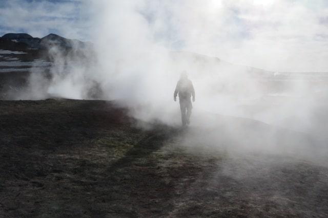 Alexander Gottwald Geysire Bolivien in über 5.000 m Höhe