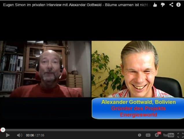 Eugen Simon Interview Alexander Gottwald über Webinar & Spungbrettseminar