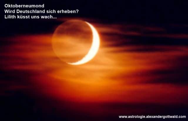 Oktoberneumond Astrologie Lilith Haiku Alexander Gottwald