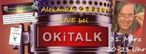 Alexander Gottwald im Interview bei Okitalk