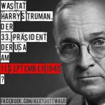 9/11 Harry S Truman 11. September 1945