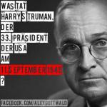 9/11 Harry S Truman 11. September 1945