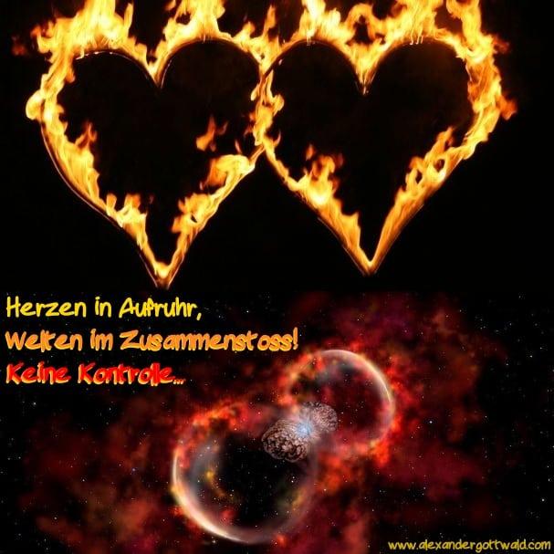 Haiku Herzen in Aufruhr - Neumond im Supergalaktischen Zentrum