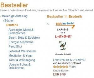 L+A+S=S los & L+E+B=E! Buch Esoterik Bücher Nummer 1