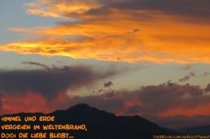 Himmel und Erde Haiku Alexander Gottwald