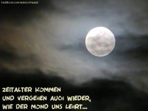 Zeitalter Mond Haiku Alexander Gottwald