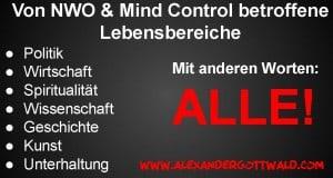 NWO Alle Lebensbereiche von Mind Control betroffen