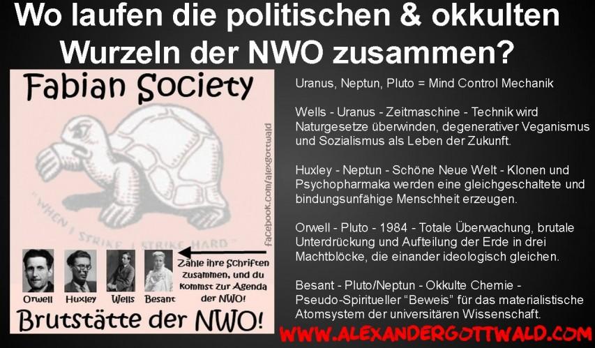 Okkulte und politische Wurzeln der NWO Fabian Society