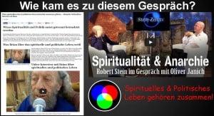 Wie kam es zum Gespräch von Oliver Janich und Alexander Gottwald Spiritualität