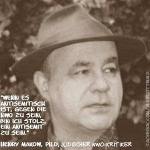 Henry Makow NWO Antisemitismus