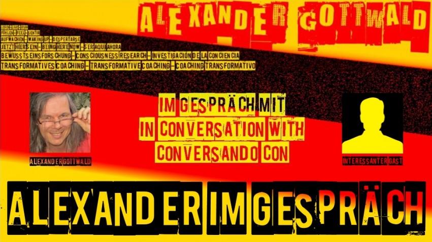 Alexander Gottwald im Gespräch