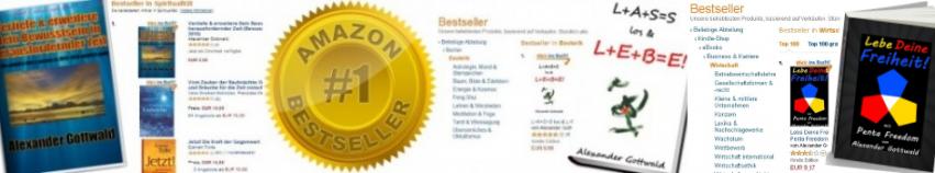 Amazon Bestseller Autor Alexander Gottwald