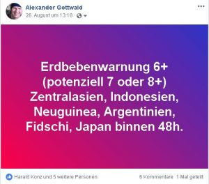 prognose 26 August 2018 Indonesien