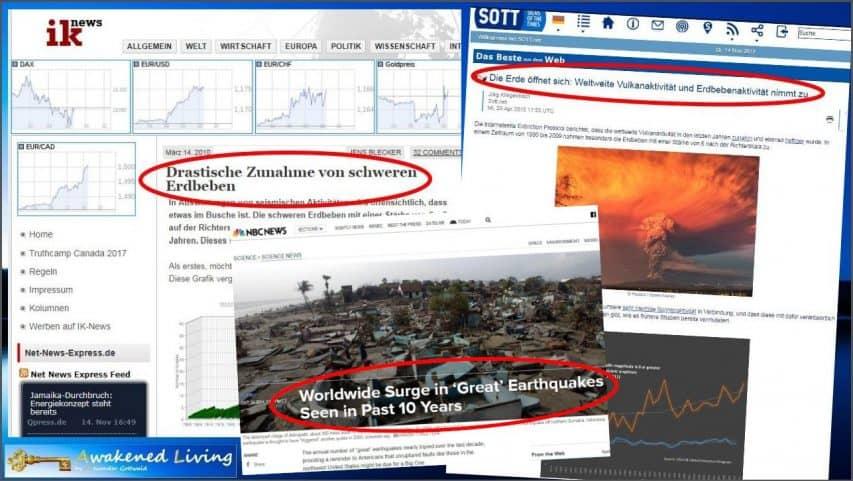 Erdbebenprognosen - mehr große Erdbeben