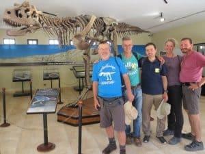 Carnotauro Skelett Sucre Bolivien Reise Teilnehmerstimmen Parque Cretasico