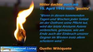 Positives denken schadet Hitler 1945