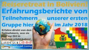 Reiseberichte von Teilnehmern des Reiseretreats in Bolivien