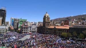 La Paz Bolivien Oktober 2019