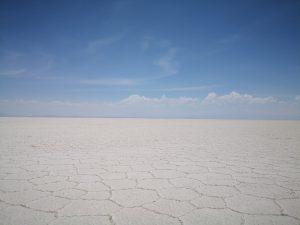 Salzwüste Salar de Uyuni Bolivien