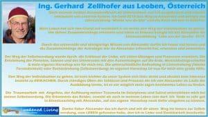 Gerhard Referenz Ausbildung LEBE aus der Quelle 2019