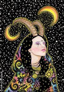 Capricorn Steinbock von Jasmin Boldhaus
