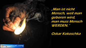 Oskar Kokoschka Mensch WERDEN