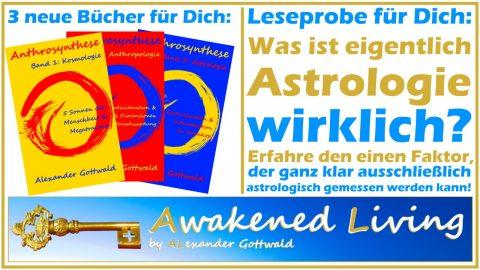 Anthrosynthese Was ist Astrologie wirklich - 3 neue Bücher