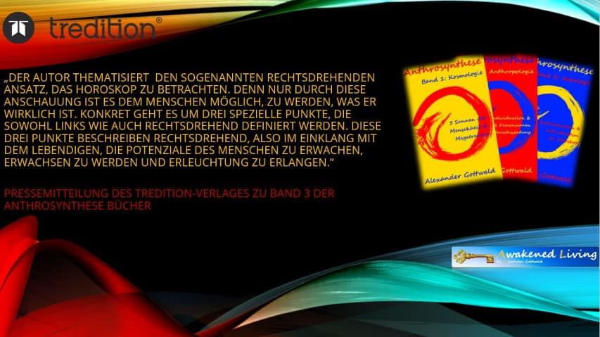 Anthrosynthese Bücher Pressemitteilung Tredition Verlag Band 3 B