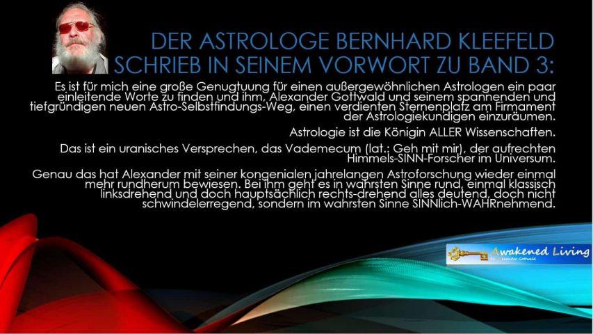 Anthrosynthese Bücher Vorwort Band 3 Bernhard Kleefeld 1