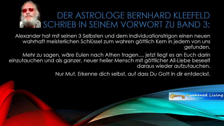Anthrosynthese Bücher Vorwort Band 3 Bernhard Kleefeld 2