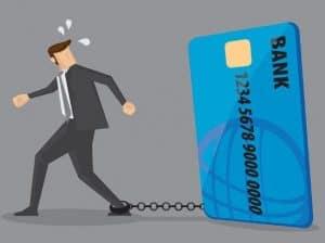 Kreditkarten Bank Sklave Schulden
