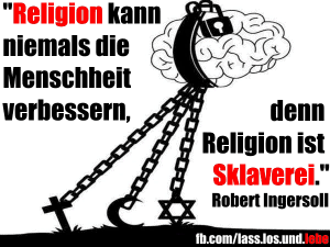 Religion Sklaverei Ingersoll