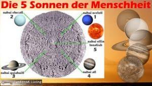 Die 5 Sonnen der Menschheit und das Megatrauma - Ursprünge Azteken