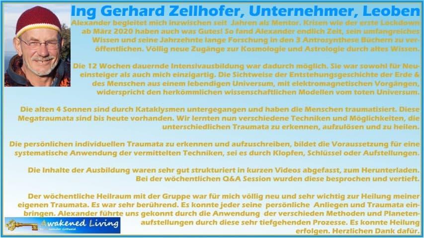 Anthrosynthese Intensivausbildung 2020 Gerhard