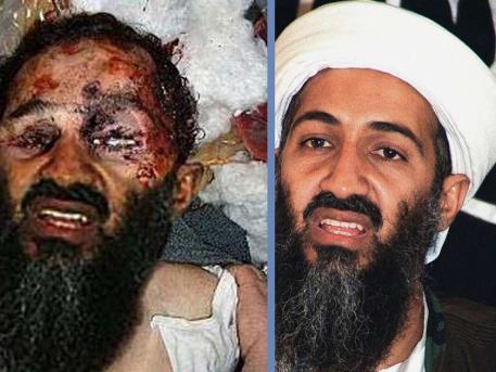 Plumpe Fälschung des Fotos des angeblich gerade getöteten Osama Bin Laden
