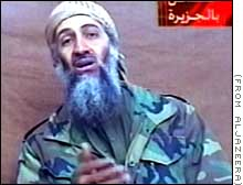 Das letzte vor dem Tod von Osama Bin Laden veröffentlichte Foto von 2001